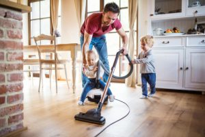 household chores back pain